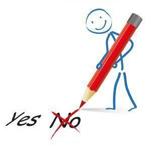Ja - Nee potlood