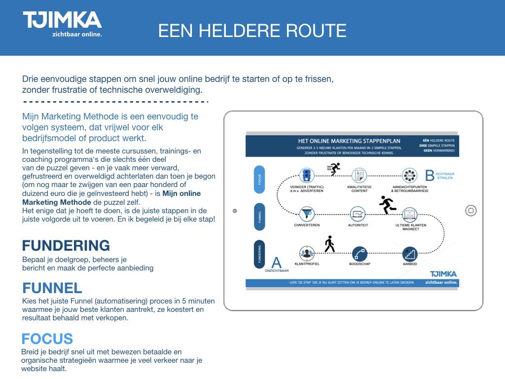 Tjimka.nl - Mijn Marketing Methode